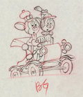 Animation Art:Production Drawing, The Nifty Nineties Mickey Mouse and Minnie Mouse AnimationDrawing Group of 2 (Walt Disney, 1941).... (Total: 2 Items)