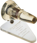 Explorers:Space Exploration, Gemini 8 Flown Heat Shield Plug in Clear Display. ...