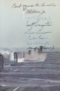 Autographs:Celebrities, Mercury Seven Astronauts Signed Book (By All): We Seven byThe Astronauts Themselves....