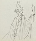 Animation Art:Production Drawing, Sleeping Beauty Maleficent Animation Drawing (Walt Disney,1959)....
