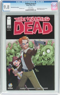 Modern Age (1980-Present):Horror, Walking Dead #1 Wizard World Tulsa Edition (Image, 2015) CGC NM/MT9.8 White pages....