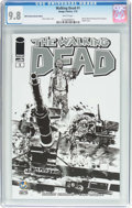 Modern Age (1980-Present):Horror, Walking Dead #1 Wizard World Portland Sketch Edition (Image, 2015)CGC NM/MT 9.8 White pages....
