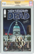 Modern Age (1980-Present):Horror, Walking Dead #1 Wizard World St. Louis Edition - Signature Series(Image, 2015) CGC NM/MT 9.8 White pages....