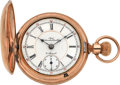 Timepieces:Pocket (pre 1900) , Columbus Time King Two Tone 21 Jewel Movement . ...