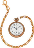 Timepieces:Pocket (post 1900), Illinois 24 Jewel Bunn Special Open Face Pocket Watch. ...