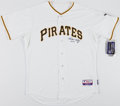 Baseball Collectibles:Uniforms, Ralph Kiner Signed Pittsburgh Pirates Jersey....