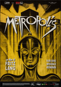 "Movie Posters:Science Fiction, Metropolis (Cineteca Bologna, R-2010). Italian 2 - Fogli (38"" X55""). Science Fiction.. ..."