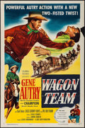"""Movie Posters:Western, Wagon Team & Other Lot (Columbia, 1952). One Sheets (2) (27"""" X41""""). Western.. ... (Total: 2 Items)"""
