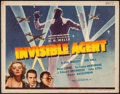 "Movie Posters:War, Invisible Agent (Universal, 1942). Title Lobby Card (11"" X 14"").War.. ..."