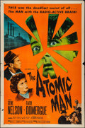 "Movie Posters:Science Fiction, The Atomic Man & Other Lot (Allied Artists, 1956). One Sheets(2) (27"" X 41""). Science Fiction.. ... (Total: 2 Items)"