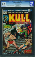 Bronze Age (1970-1979):Adventure, Kull the Destroyer #12 (Marvel, 1973) CGC NM+ 9.6 Off-white to white pages.