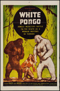"""Movie Posters:Adventure, White Pongo & Other Lot (Madison Pictures, R-1951). One Sheet (27"""" X 41"""") & Uncut Pressbook (Multiple Pages, 12"""" X 18""""). Adv... (Total: 2 Items)"""