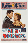 """Movie Posters:Comedy, All in a Night's Work & Other Lot (Paramount, 1961). One Sheets (2) (27"""" X 41""""). Comedy.. ... (Total: 2 Items)"""