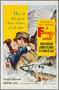 "Movie Posters:War, A Farewell to Arms & Other Lot (20th Century Fox, R-1963). OneSheets (2) (27"" X 41""). War.. ... (Total: 2 Items)"