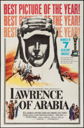 "Movie Posters:Academy Award Winners, Lawrence of Arabia (Columbia, 1962). One Sheet (27"" X 41"") Style D. Academy Award Style.. ..."