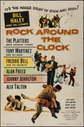 """Movie Posters:Rock and Roll, Rock Around the Clock (Columbia, 1956). One Sheet (27"""" X 41""""). Rock and Roll.. ..."""