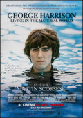 "Movie Posters:Documentary, George Harrison: Living in the Material World (HBO Films, 2011). Italian 2 - Fogli (38.5"" X 55""). Documentary.. ..."