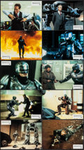 """Movie Posters:Action, RoboCop (Orion, 1987). German Lobby Card Set of 18 (8.25"""" X 11.75""""). Action.. ... (Total: 18 Items)"""