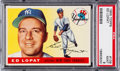 Baseball Cards:Singles (1950-1959), 1955 Topps Ed Lopat #109 PSA Mint 9 - Pop One-of-One! ...