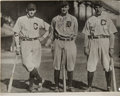 Baseball Collectibles:Photos, 1940's Ty Cobb Signed Photograph....