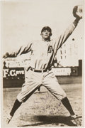 Baseball Collectibles:Photos, 1945 Ty Cobb Signed Photograph....