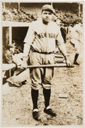 Baseball Collectibles:Photos, 1920's Babe Ruth Signed Photograph....