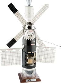 Skylab: Rare NASA Contractor's Model from George C. Marshall Space Flight Center, 1/48 Scale