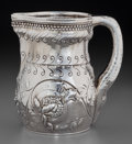 Silver & Vertu:Hollowware, A Tiffany & Co. Aesthetic Movement Silver Water Pitcher with Pomegranate Motif, New York, New York, circa 1873-1891. Marks: ...