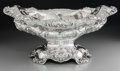 Silver Holloware, American:Center Pieces, A Large Reed & Barton Silver Center Bowl with Poppy Motif,Taunton, Massachusetts, circa 1900. Marks: (eagle-R-lion),STER...