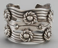 Silver Smalls:Other , A William Spratling Silver Cuff, Taxco, Mexico, circa 1940-1946.Marks: WS, SPRATLING, MADE IN MEXICO, STERLING. 6-1/8 i...