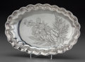 Silver Holloware, American:Bowls, A Gorham Aesthetic Movement Silver Bowl with Blackberry Motif,Providence, Rhode Island, circa 1886. Marks: (lion-anchor-G),...