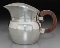 Silver & Vertu:Hollowware, A William Spratling Ranch Pattern Mexican Silver Pitcher with Rosewood Handle, Taxco, Mexico, circa 1933-1940. M...
