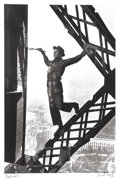 Photographs, Marc Riboud (French, 1923-2016). The Painter of the Eiffel Tower, Paris, France, 1953. Gelatin silver, printed later. 11...