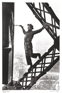 Marc Riboud (French, 1923-2016) The Painter of the Eiffel Tower, Paris, France, 1953 Gelatin silver