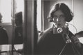 Photographs, Ilse Bing (German/American, 1899-1998). Self-Portrait, 1931. Gelatin silver, printed later. 8-5/8 x 13 inches (21.9 x 33...