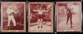 Boxing Cards:General, 1959 Eagle Hall of Fame Boxing Complete Set (5)....