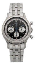 Timepieces:Wristwatch, Franck Muller Endurance Sport Limited Edition Steel Chronograph,No. 49/70. ...