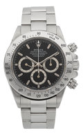 Timepieces:Wristwatch, Rolex Ref. 16520 Steel Oyster Perpetual Cosmograph, circa 1989. ...
