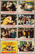 """Movie Posters:Musical, It's Always Fair Weather (MGM, 1955). Lobby Card Set of 8 (11"""" X 14""""). Musical.. ... (Total: 8 Items)"""