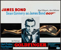 "Movie Posters:James Bond, Goldfinger (United Artists, R-1970s). Belgian (18.5"" X 22.5""). James Bond.. ..."