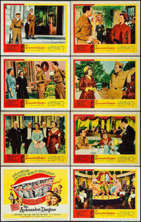 """The Ambassador's Daughter (United Artists, 1956). Lobby Card Set of 8 (11"""" X 14""""). Comedy. ... (Total: 8 Items..."""