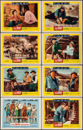 """Movie Posters:Western, The Big Country (United Artists, 1958). Lobby Card Set of 8 (11"""" X 14""""). Western.. ... (Total: 8 Posters)"""