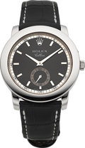 Timepieces:Wristwatch, Rolex Unused Ref. 5241 Cellini Cellinium Gent's Platinum Watch. ...
