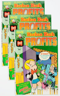 Richie Rich Profits #1 File Copies Group of 100 (Harvey, 1974) Condition: Average NM-.... (Total: 100 Comic Books)