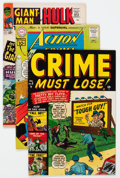 Golden Age (1938-1955):Miscellaneous, Comic Books - Assorted Golden of Silver Age Group of 8 (Various Publishers, 1950s) Condition: Average FN+.... (Total: 8 Comic Books)