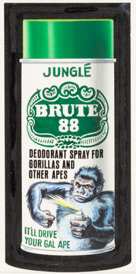 "Norman Saunders Wacky Packages 10th Series ""Brute 88"" Card Illustration Original Art (Topps, 1974)"