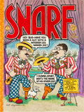 Original Comic Art:Covers, Art Spiegelman Snarf #7 Cover Original Art (Kitchen Sink,1977)....