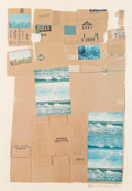 Prints:Contemporary, Robert Rauschenberg (1925-2008). General Delivery, 1971.Screenprint and offset lithograph in colors with collage on pap...