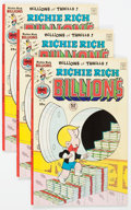 Bronze Age (1970-1979):Cartoon Character, Richie Rich Billions File Copies Box Lot (Harvey, 1974-82)Condition: Average NM-....