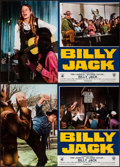 "Movie Posters:Action, Billy Jack (Warner Brothers, 1971). Italian Photobusta Set of 10(18"" X 25.75""). Action.. ... (Total: 10 Items)"